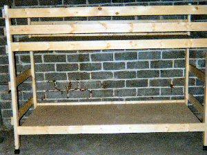 2x4 bunk beds